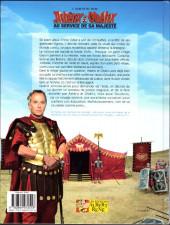Verso de Astérix (Hors Série) -C08- Astérix & Obélix au service de Sa Majesté - L'Album du film