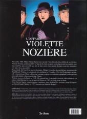 Verso de Les grandes affaires criminelles et mystérieuses -9- L'affaire Violette Nozière