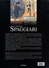 Verso de Les grandes affaires criminelles et mystérieuses -10- L'affaire Spaggiari