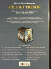 Verso de Les indispensables de la Littérature en BD -1- L'Île au trésor