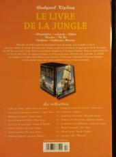 Verso de Les indispensables de la Littérature en BD -5- Le Livre de la jungle