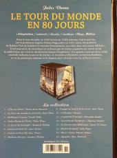 Verso de Les indispensables de la Littérature en BD -2- Le Tour du monde en 80 jours
