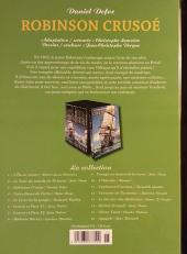 Verso de Les indispensables de la Littérature en BD -3- Robinson Crusoé