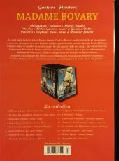 Verso de Les indispensables de la Littérature en BD -8- Madame Bovary