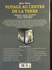 Verso de Les indispensables de la Littérature en BD -9- Voyage au centre de la Terre