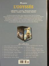Verso de Les indispensables de la Littérature en BD -10- L'Odyssée