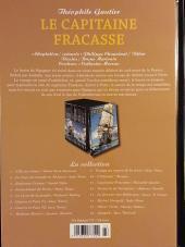 Verso de Les indispensables de la Littérature en BD -11- Le Capitaine Fracasse