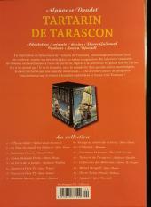 Verso de Les indispensables de la Littérature en BD -12- Tartarin de Tarascon