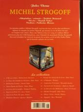 Verso de Les indispensables de la Littérature en BD -14- Michel Strogoff