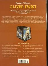 Verso de Les indispensables de la Littérature en BD -15- Oliver Twist