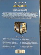 Verso de Les indispensables de la Littérature en BD -16- Agaguk