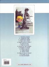 Verso de Cédric -11a2001- Cygne d'étang