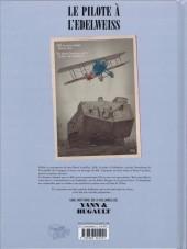 Verso de Le pilote à l'Edelweiss -2- Sidonie