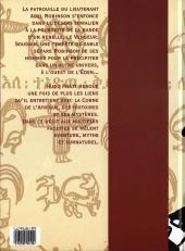 Verso de À l'ouest de l'Eden - Tome 1998