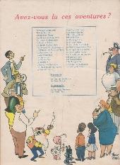 Verso de Samedi Jeunesse -70- La plume rouge