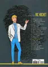 Verso de Ric Hochet - La collection (Hachette) -34- La nuit des vampires