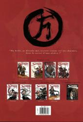 Verso de Samurai -8- Frères de sang