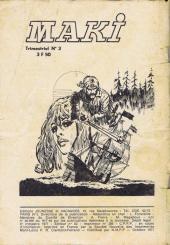Verso de Archie (Jeunesse et Vacances) -39- Le réveil du mastodonte...