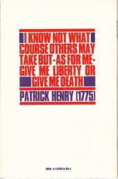 Verso de Give me Liberty (1990) -1- Homes & Gardens