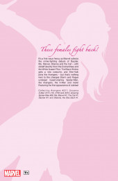 Verso de Women of Marvel (2006) -INT01- Women of Marvel volume 1