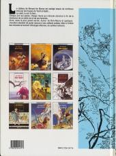 Verso de Les tours de Bois-Maury -9- Khaled