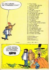 Verso de Tif et Tondu -23a1977- Tif et Tondu à New York