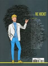 Verso de Ric Hochet - La collection (Hachette) -35- La mort noire