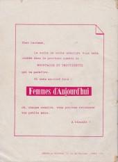 Verso de Moustache et Trottinette (Mensuel) -4- Les trois mousquetaires (1)
