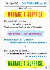 Verso de Mandrake (1re Série - Remparts) (Mondes Mystérieux - 1) -37- Mandrake sur la lune