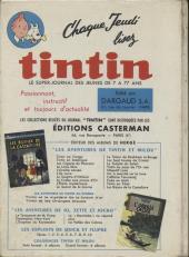 Verso de (Recueil) Tintin (Album du journal - Édition française) -67- Tintin album du journal (n°888 à 900)