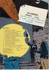 Verso de Gil Jourdan -2a1978- Popaïne et vieux tableaux