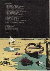 Verso de Gil Jourdan -7a1977- Les moines rouges