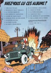 Verso de Gil Jourdan -12a78- Pâtée explosive
