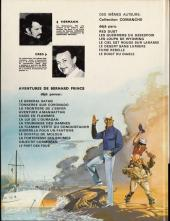 Verso de Bernard Prince -2c1979- Tonnerre sur Coronado