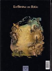 Verso de La graine de folie -3- La Morrydwen