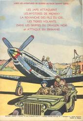 Verso de Buck Danny -7a1952- Les Trafiquants de la mer Rouge