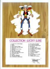Verso de Lucky Luke -3d07- Arizona