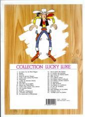 Verso de Lucky Luke -4e07- Sous le ciel de l'Ouest