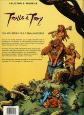 Verso de Trolls de Troy -5a2001- Les Maléfices de la Thaumaturge