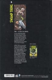 Verso de Swamp Thing (Urban Comics) -1- De Sève et De Cendres