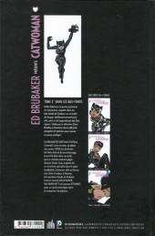 Verso de Catwoman (Ed Brubaker présente) -2- Dans les bas-fonds