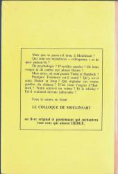 Verso de (AUT) Hergé -74'- Le colloque de Moulinsart