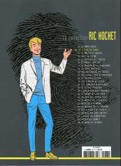 Verso de Ric Hochet - La collection (Hachette) -36- La flèche de sang