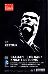 Verso de DC Saga -6- Numéro 6
