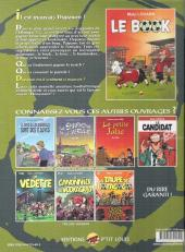 Verso de La vedette -4- Le book