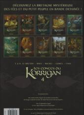 Verso de Les contes du Korrigan -4b- Livre quatrième : la pierre de justice