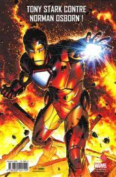 Verso de Invincible Iron Man (The) (Marvel Deluxe) -1- Dans la ligne de mire