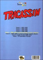 Verso de Tracassin -INT5- Tracassin - intégrale 5 : 1968-1969 le grand jumelage (version intégrale)