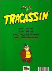 Verso de Tracassin -INT7- Tracassin - intégrale 7 : en attendant l'europe