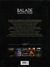 Verso de Balade au Bout du monde -INT3a- Intégrale - Cycle 3
